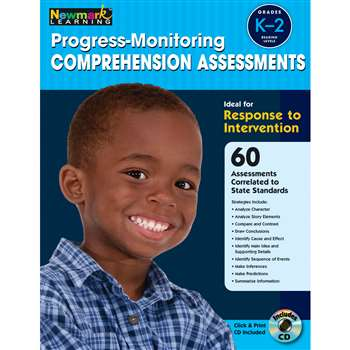Progress Monitoring Comprehension Assessments Gr K-2 By Newmark Learning