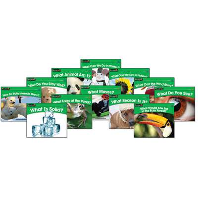 Rising Readers Leveled Books Science Set By Newmark Learning