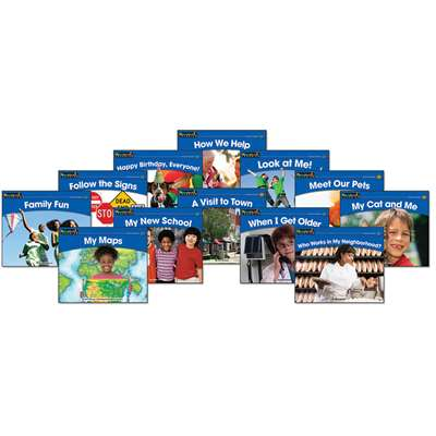 Rising Readers Leveled Books Social Studies Set By Newmark Learning