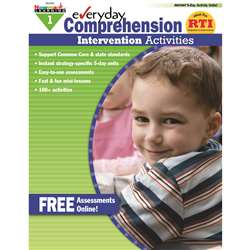 Everyday Comprehension Gr 1 Intervention Activities By Newmark Learning