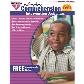 Everyday Comprehension Gr 2 Intervention Activities By Newmark Learning