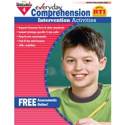 Everyday Comprehension Gr 4 Intervention Activities By Newmark Learning