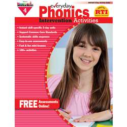 Everyday Phonics Gr 4 Intervention Activities By Newmark Learning