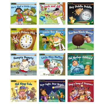 Nursery Rhyme Tales Content Area Leveled Readers English 12 Titles By Newmark Learning