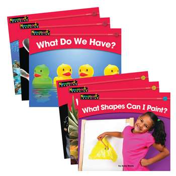 Rising Readers Leveled Books Math Set 24 Titles By Newmark Learning
