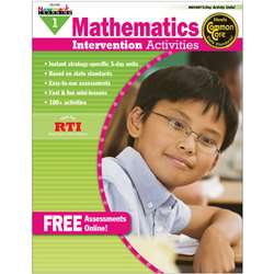 Everyday Mathematics Gr 1 Intervention Activities By Newmark Learning