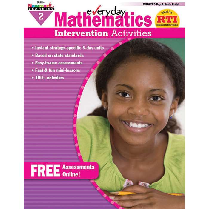 Everyday Mathematics Gr 2 Intervention Activities By Newmark Learning