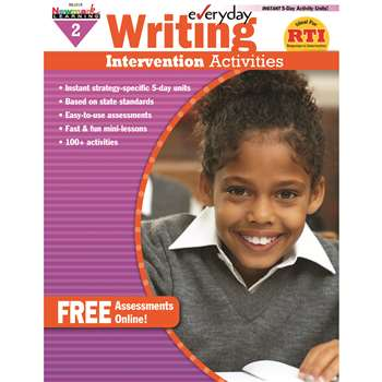 Everyday Writing Gr 2 Intervention Activities By Newmark Learning