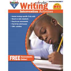 Everyday Writing Gr 5 Intervention Activities By Newmark Learning
