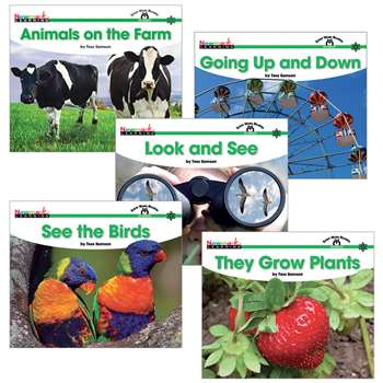 Sight Word Readers Complete Science 16 Title Set By Newmark Learning