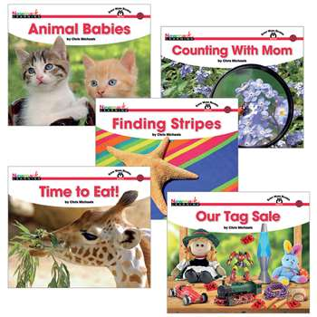 Sight Word Readers Complete Math 16 Title Set By Newmark Learning