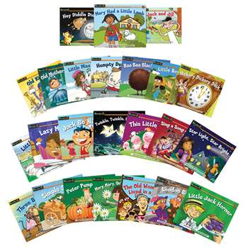 Rising Readers Fiction 24 Title Set Volumes 2 & 3 Nursery Rhyme Tales By Newmark Learning