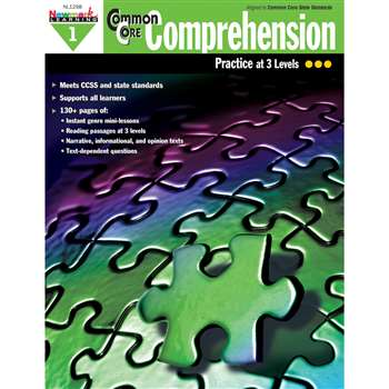 Common Core Comprehension Gr 1 By Newmark Learning