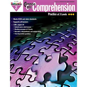Common Core Comprehension Gr 2 By Newmark Learning