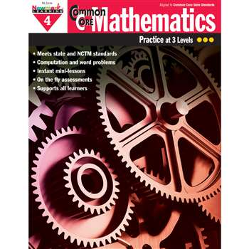 Common Core Mathematics Gr 4 By Newmark Learning