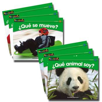 En Espanol Rising Readers Science Vol 1 Set Of 12 By Newmark Learning