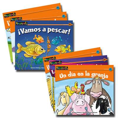 En Espanol Rising Readers Fiction Animal Adventures Vol 1 Set Of 12 By Newmark Learning
