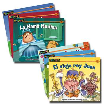 En Espanol Rising Readers Fiction Nursery Rhyme Tales Vol 2 Set Of 1 By Newmark Learning