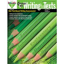 Common Core Writing To Text Book Grade 1 By Newmark Learning