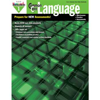 Common Core Practice Language Book Grade 1 By Newmark Learning