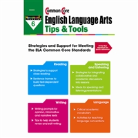 Common Core Ela Tips & Tools Gr 6, NL-2340
