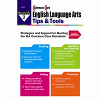 Common Core Ela Tips & Tools Gr 7, NL-2341