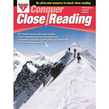 Conquer Close Reading Gr 4, NL-3273