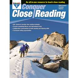 Conquer Close Reading Gr 5, NL-3274