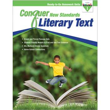 Conquer New Standards Literary Text Gr 1, NL-3583