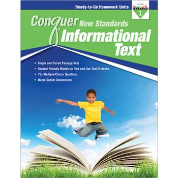 Conquer New Standards Informational Text Gr 1, NL-3584