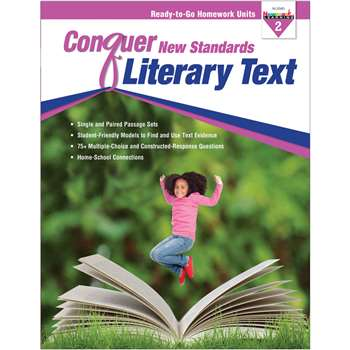 Conquer New Standards Literary Text Gr 2, NL-3585