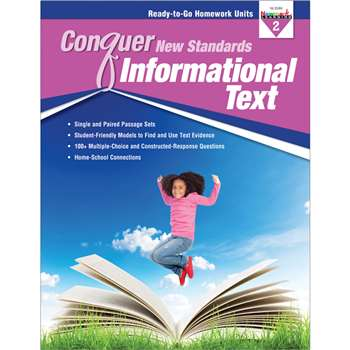 Conquer New Standards Informational Text Gr 2, NL-3586