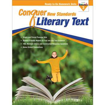 Conquer New Standards Literary Text Gr 3, NL-3587
