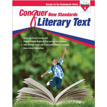 Conquer New Standards Literary Text Gr 4, NL-3589