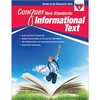 Conquer New Standards Informational Text Gr 4, NL-3590