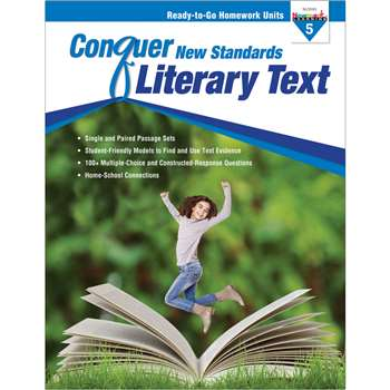 Conquer New Standards Literary Text Gr 5, NL-3591