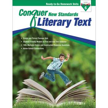 Conquer New Standards Literary Text Gr 6, NL-3593