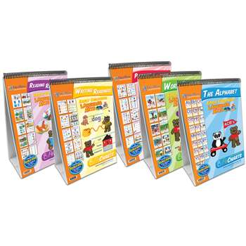 Shop Early Childhood Ela Set Of 5 Readiness Flipcharts - Np-320035 By New Path Learning