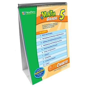 Math Flip Chart Set Gr 5 By New Path Learning