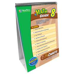 Math Flip Chart Set Gr 8 By New Path Learning
