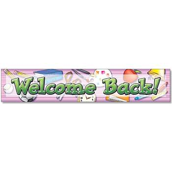 Welcome Back Banner By North Star Teacher Resource