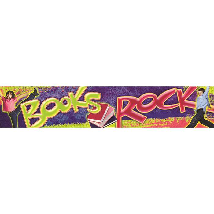 Books Rock Banner By North Star Teacher Resource
