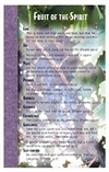 Fruit Of The Spirit Memory Cards By North Star Teacher Resource