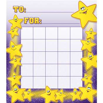 Smiley Stars Motivational Charts By North Star Teacher Resource