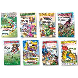 Math Superheroes Bulletin Board Set By North Star Teacher Resource