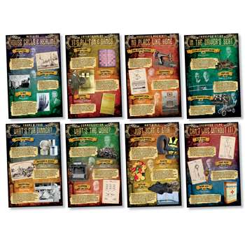Shop Inventions 1810-1965 Bulletin Board Set - Nst3076 By North Star Teacher Resource