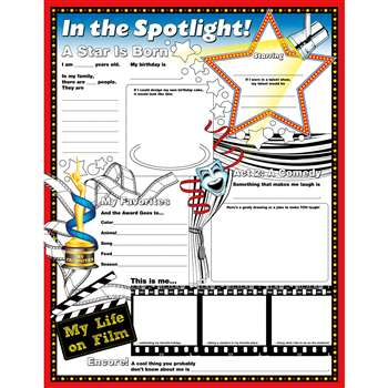 Fill Me In Posters In The Spotlight By North Star Teacher Resource