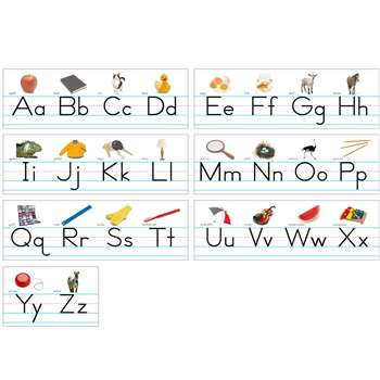 Alphabet Lines Traditional Manuscript By North Star Teacher Resource
