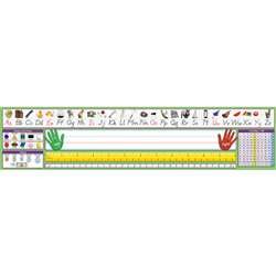 Modern Manuscript Desk Plate 17-1/2 X 4 36Pk By North Star Teacher Resource