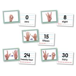 Shop American Sign Language Cards Number 0-30 - Nst9093 By North Star Teacher Resource